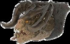 FO4-Mounted-Deathclaw-head