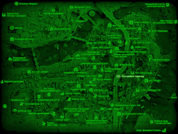 FO4 Рухнувший переход (карта мира)