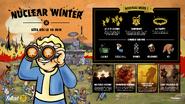 FO76 Feuille de route Nuclear Winter