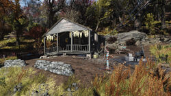 FO76 Isolated cabin 10