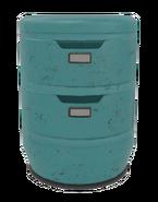 Fo4VW Short Blue File Cabinet