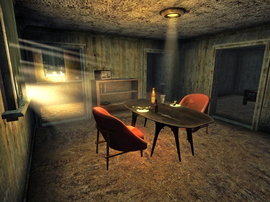 Primm house interior