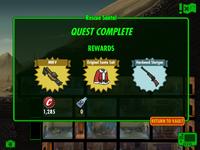 Rescue Santa rewards