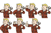 VaultBoy AnimationsRushOk