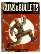Guns and bullets commies cover