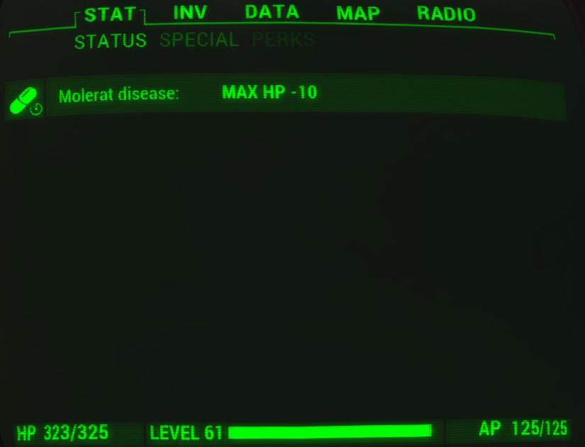 Mole rat disease | Fallout Wiki | FANDOM powered by Wikia