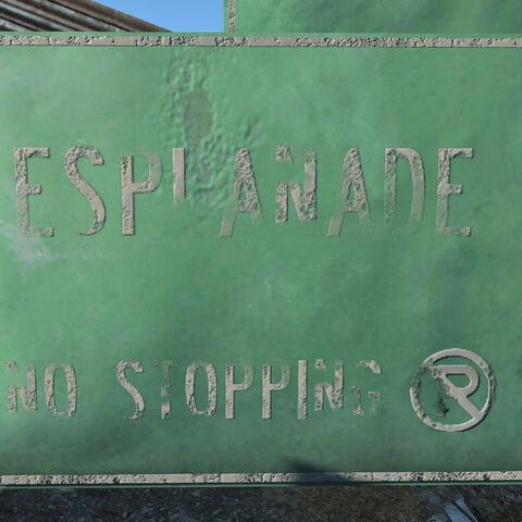 Знак Еспланади
