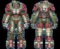 FO4 X-01 power armor hot rod shark