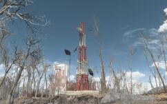 Fo4 location Relay tower 0SC527