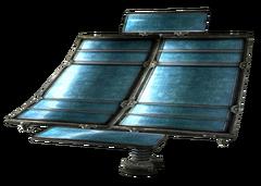 Intact solar array part