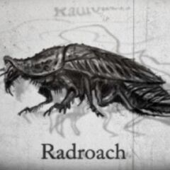 Radroach concept art from <i>Fallout 3</i>