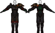 Scorched Sierra power armor