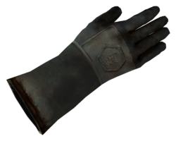 Dr. Mobius' glove
