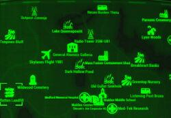 FO4 map Rotten Landfill
