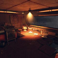 V.I.P. booth inside