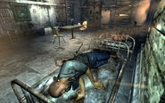 FO3 Uncle Roe sleeps