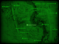 FO4 Дворец металлолома (карта мира)