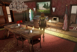 FO76 Forging a Legend (presidential cottage and museum)