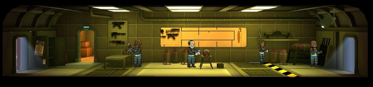 Falloutshelter armory 3room lvl1