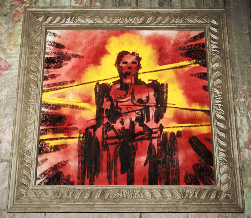 Fo4 Pickman Painting 10
