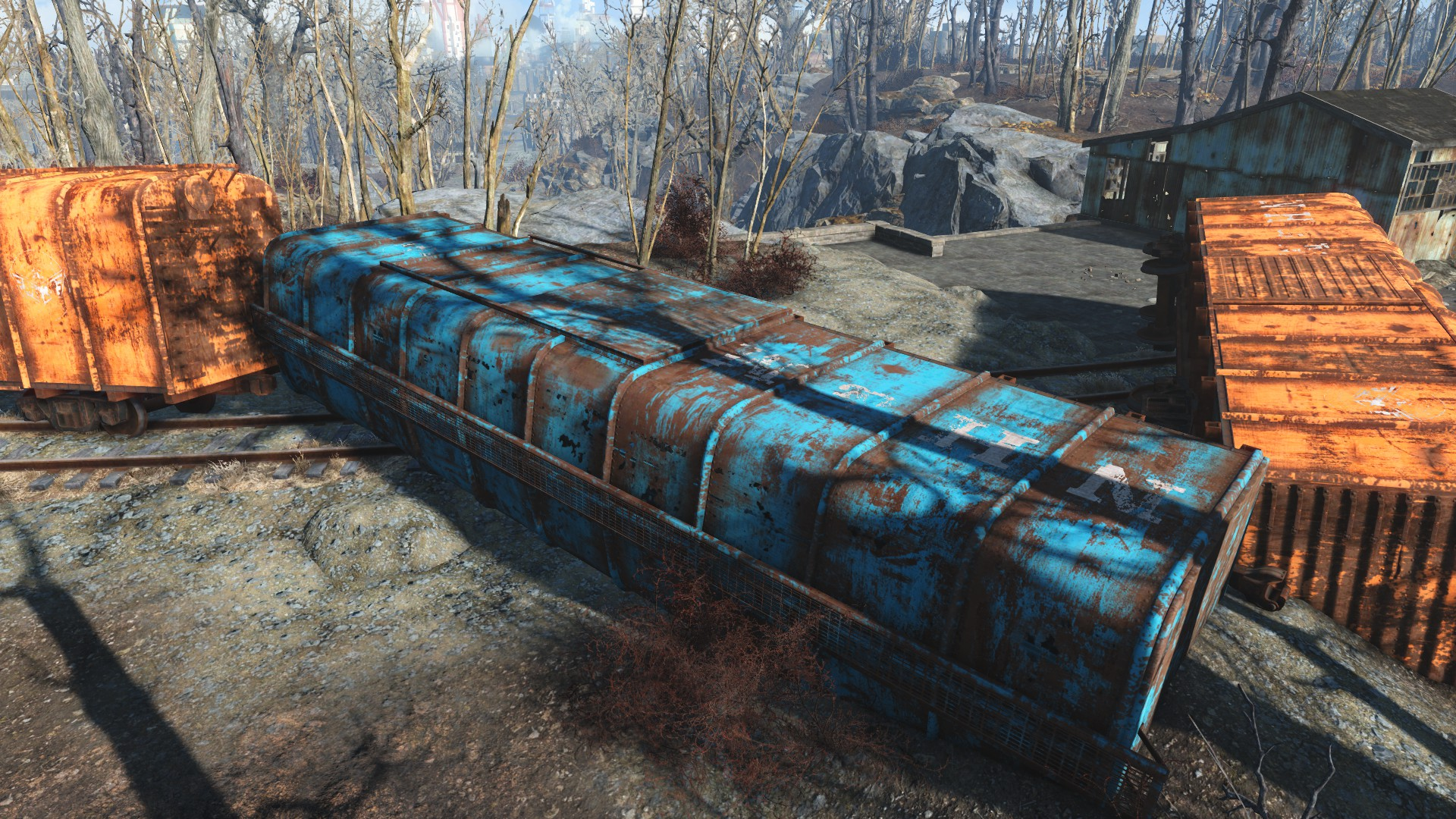 Train car | Fallout Wiki | FANDOM powered by Wikia