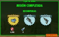 FoS A por las armas recompensas