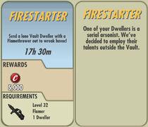 FoS Firestarter card