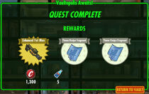 FoS Vaultopolis Awaits! rewards