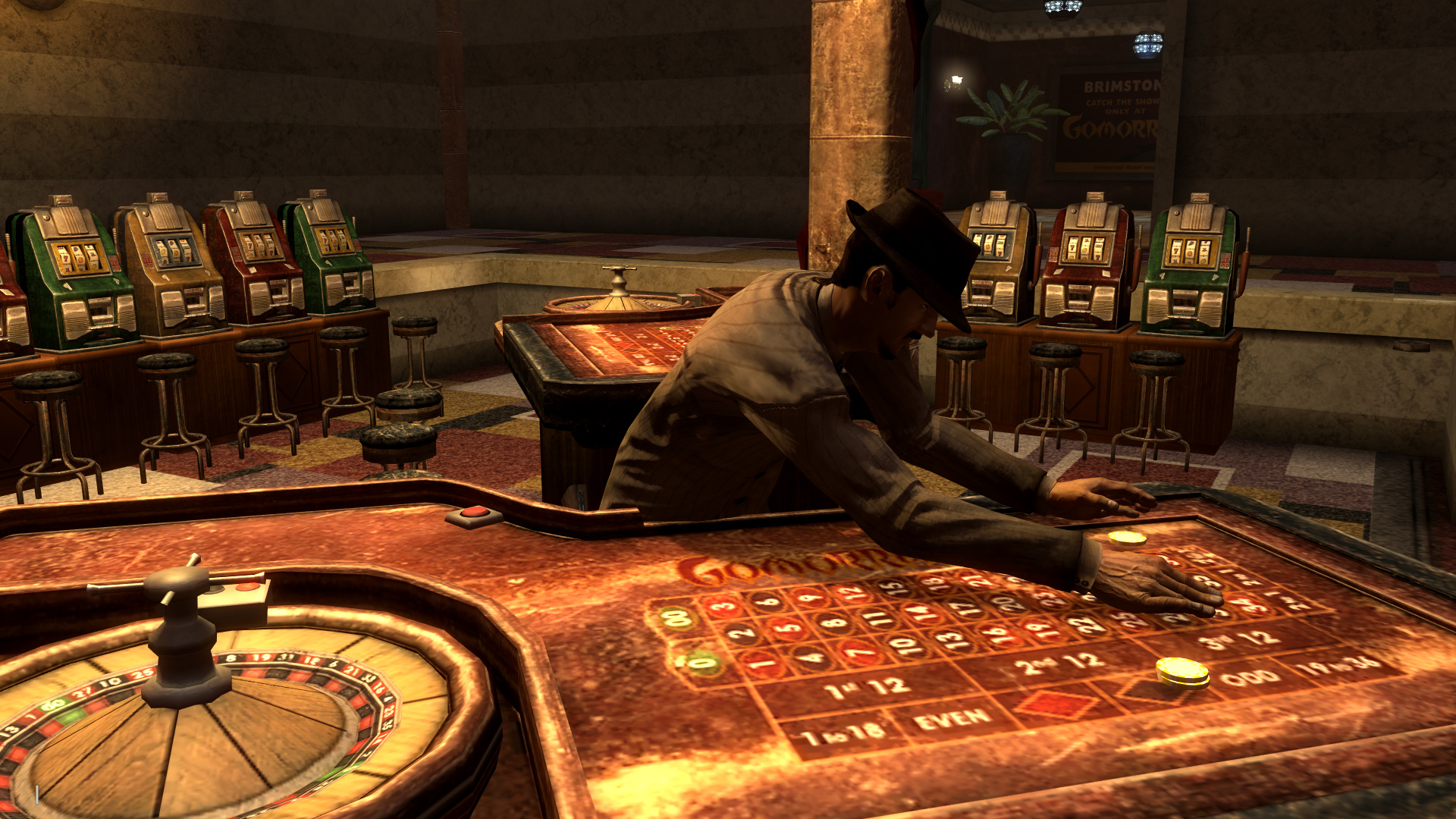 Fonv how to play roulette move gamble rumble download