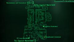 Roosevelt Academy map