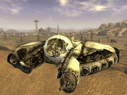 FNV WW alien ship
