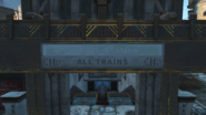 FO4 North End Subway signage