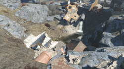 FO4 old gullet sinkhole ext