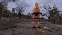 FO76 161020 Fire protectron
