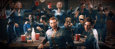 FO76 Reclamation Day Party