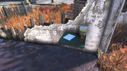 FO76 abandoned bog town (Notice of expulsion 01)