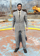 Fo4Clean Grey Suit male
