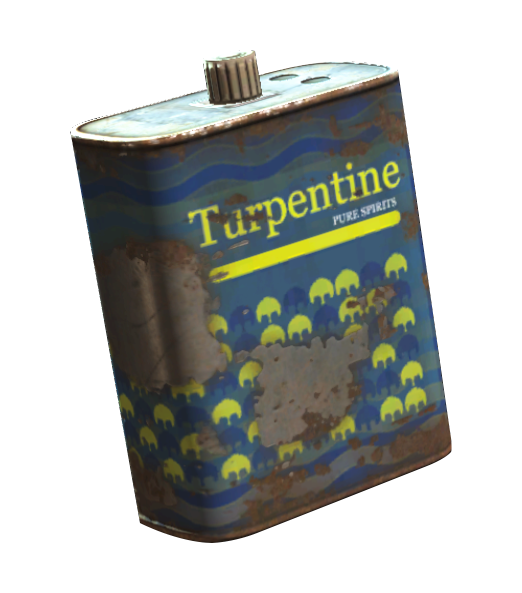 Turpentine (Fallout 4) | Fallout Wiki | FANDOM powered by Wikia
