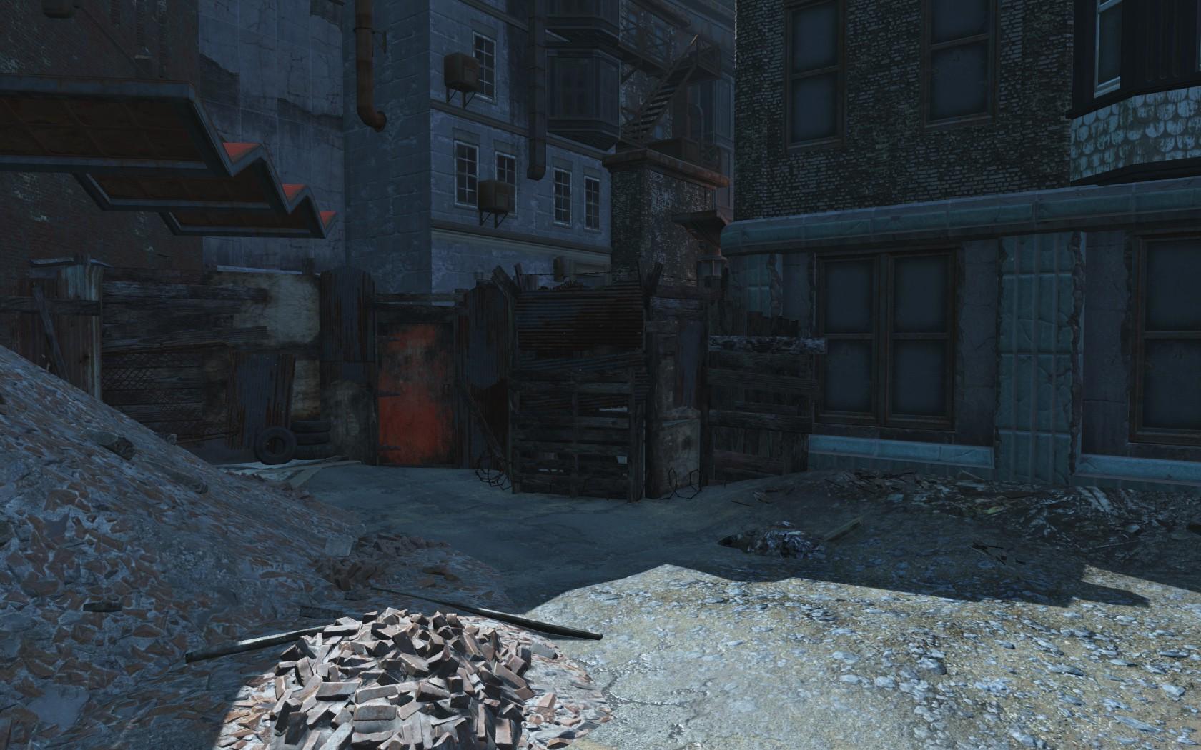 Hangman's Alley West Entrance