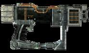 Laser pistol optics recycler