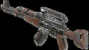 F76 Handmade rifle expanded