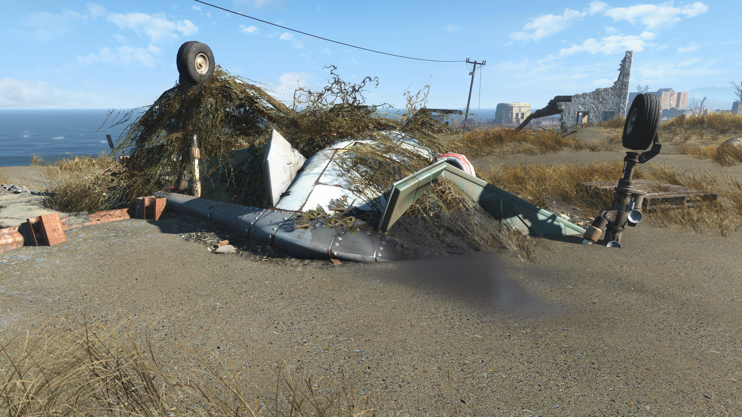 FO4 Nordhagen crashed stingray