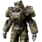 FO76 Camouflage power armor paint