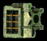 GRA laser pistol focus optics