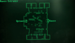 Haven entrance map