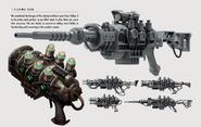 Plasma gun concept art