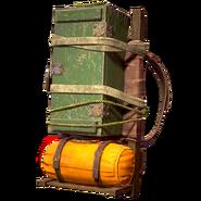 Atx skin backpack box green l