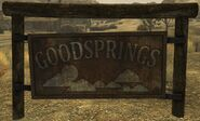 FNV Goodsprings Sign