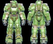 FO4CC T-60 power armor green