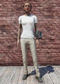 FO76 T-Shirt and Slacks